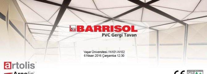 BARRISOL Yeni Ürünler Semineri - İZMİR